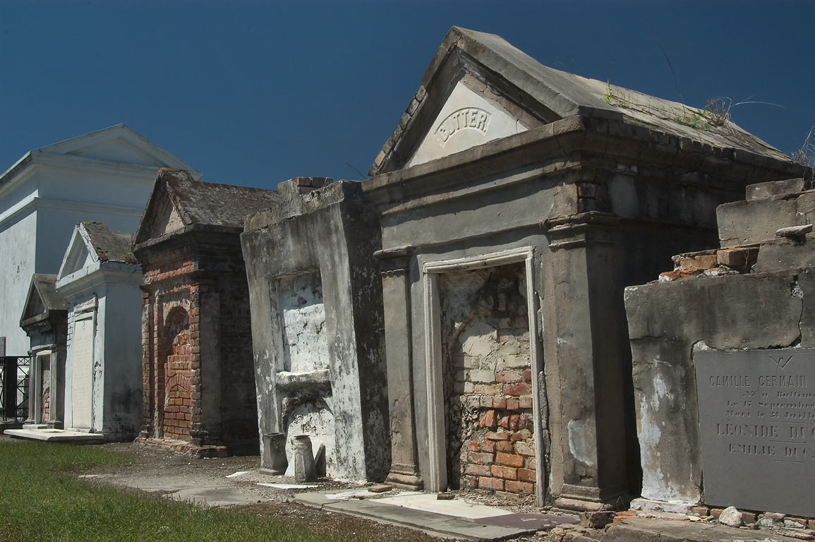 Tombs of St.Louis Cemetery No. 2. New Orleans, Louisiana