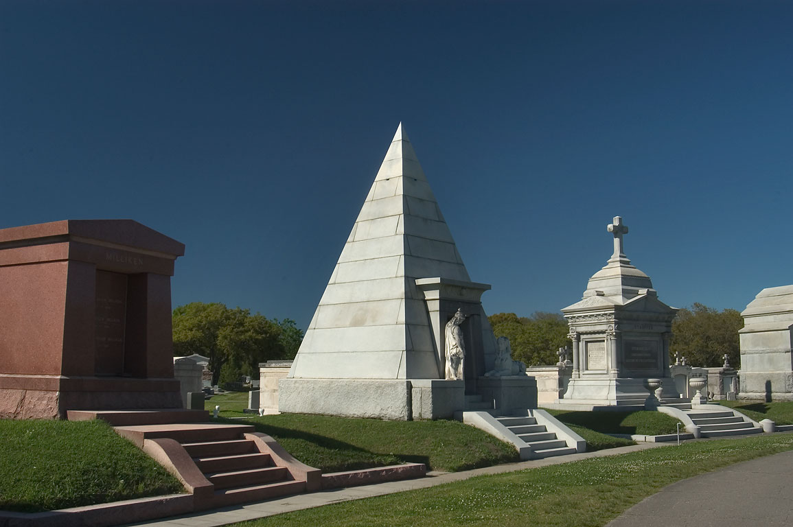 Mausoleums of Metairie Cemetery. New Orleans, Louisiana