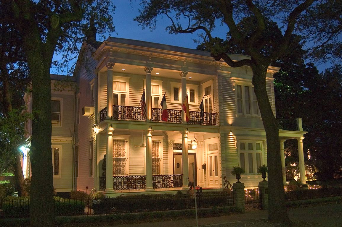 Van Benthuysen-Elms Mansion (c. 1869) at 3029 St.Charles Ave.. New Orleans, Louisiana
