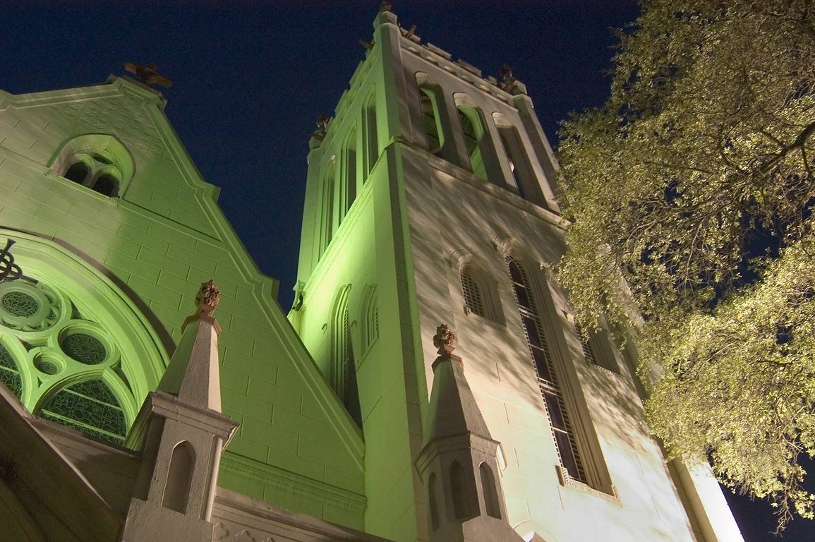 Christ Church Cathedral (Episcopal) at 2919 St.Charles Ave.. New Orleans, Louisiana