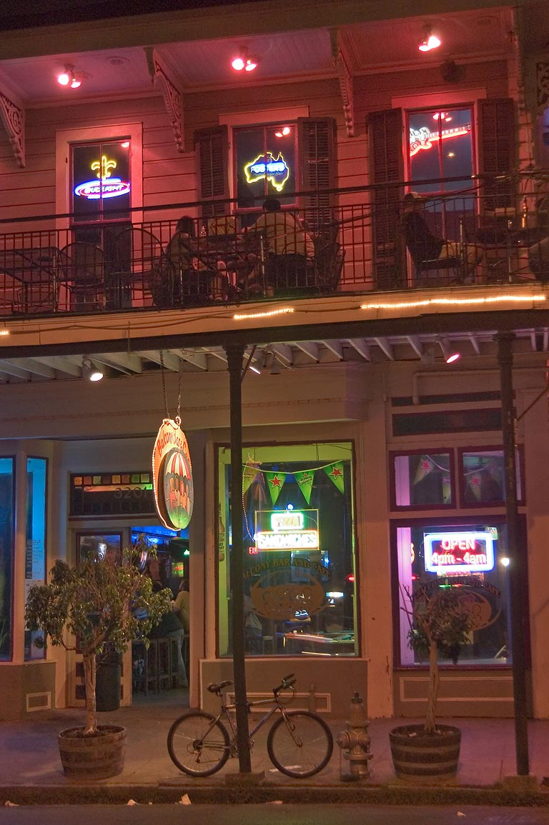Balcony Bar and Cafe at 3201 Magazine St.. New Orleans, Louisiana
