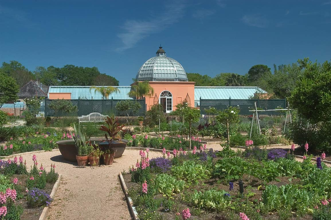 PLANO demonstration garden and a conservatory of New Orleans Botanical Garden. Louisiana