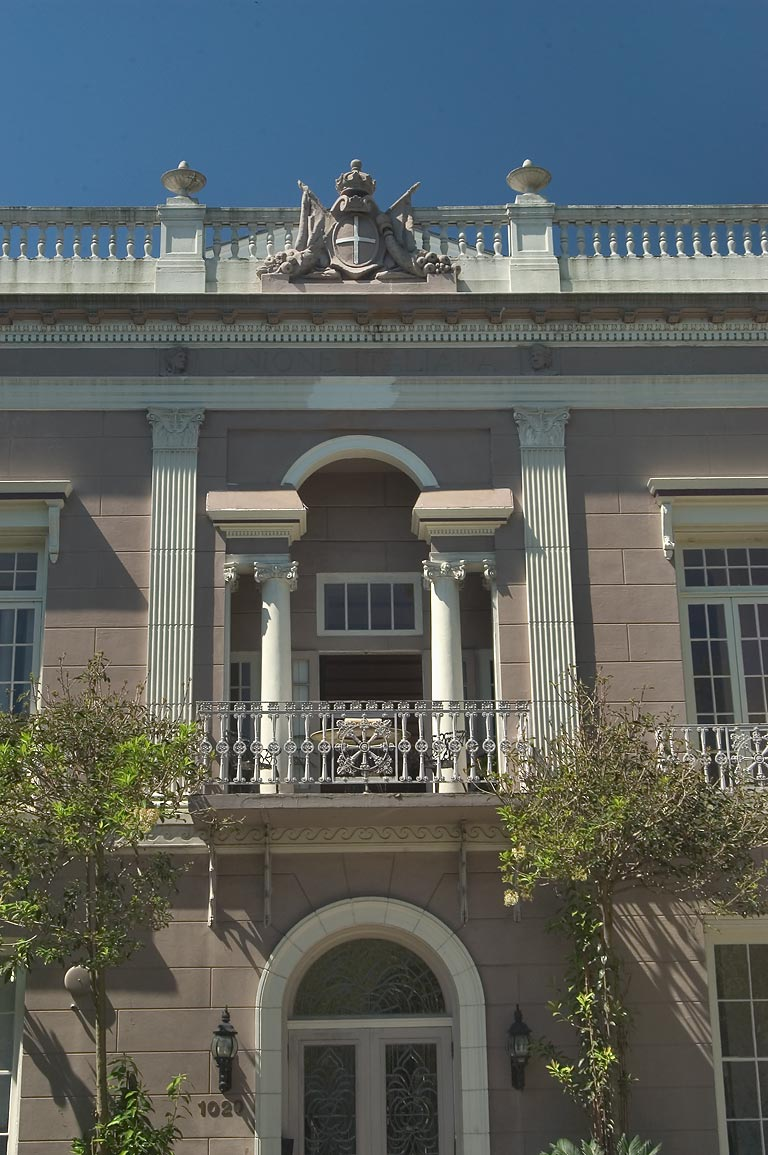 Italian Union Hall (William Nott House, 1835...Esplanade Ave.. New Orleans, Louisiana