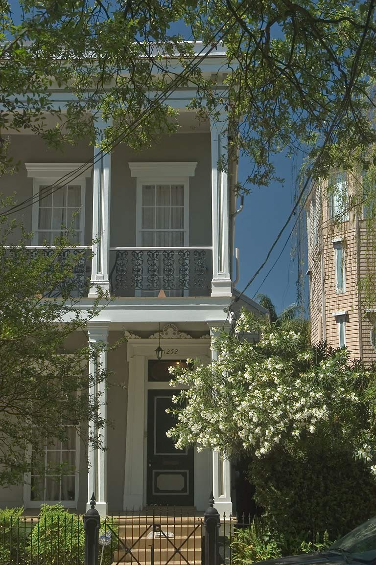 A house at 1252 Esplanade Ave.. New Orleans, Louisiana