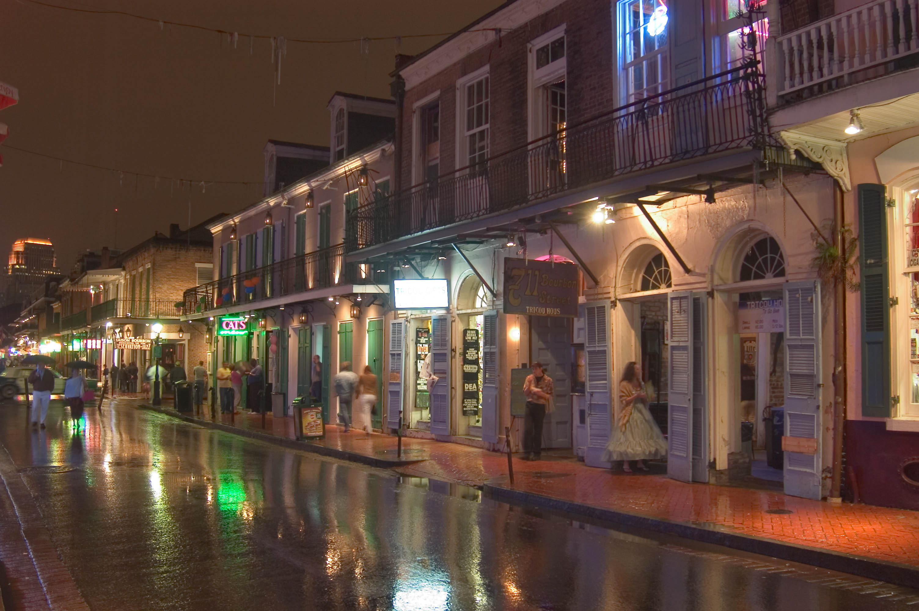 Photo 445 14 bourbon street near toulouse street new for What to do in new orleans louisiana