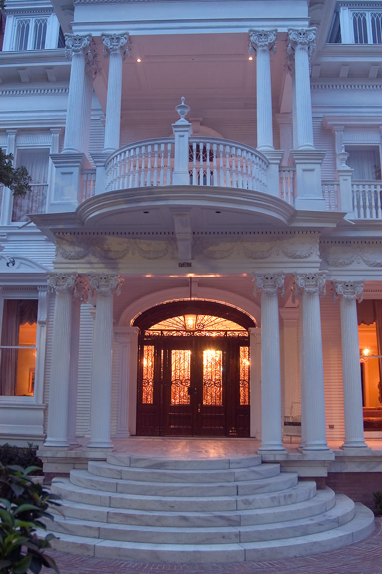 "Wedding Cake"" House on St.Charles Ave.. New Orleans, Louisiana"