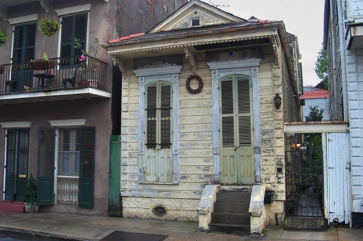 New Orleans French Quarter Houses