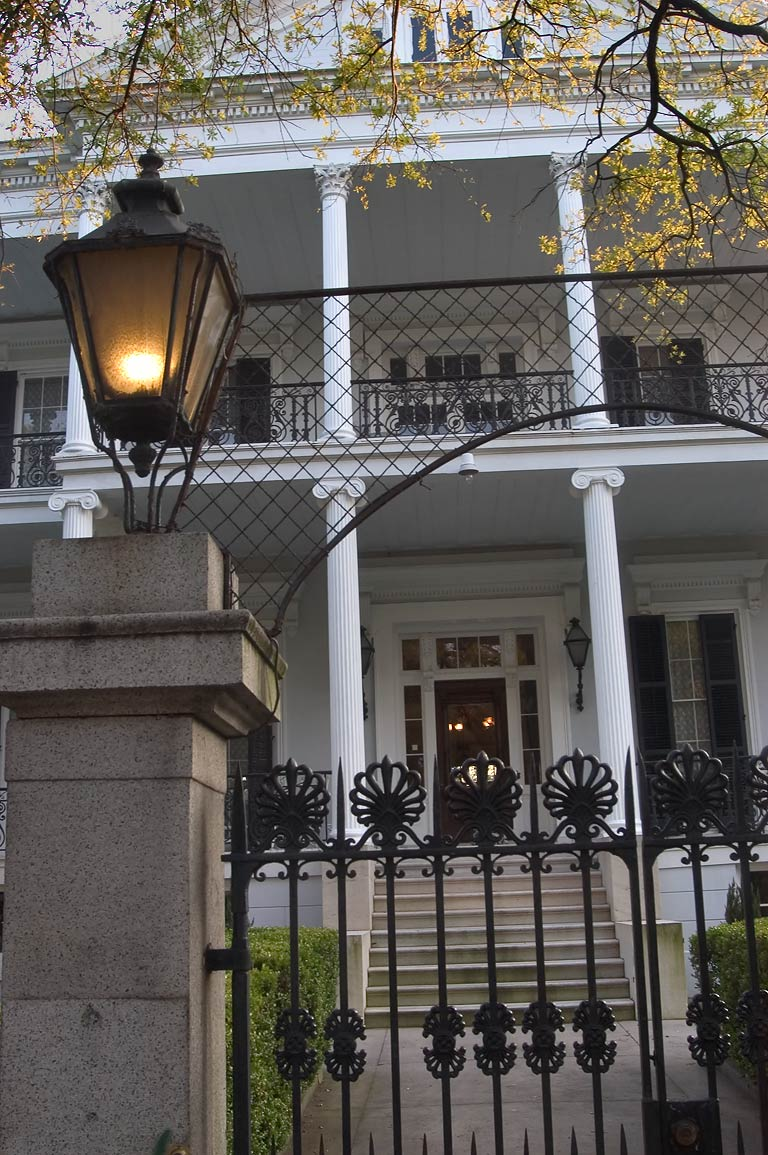 Buckner Mansion (Soule College, 1856) at 1410 Jackson Ave.. New Orleans, Louisiana