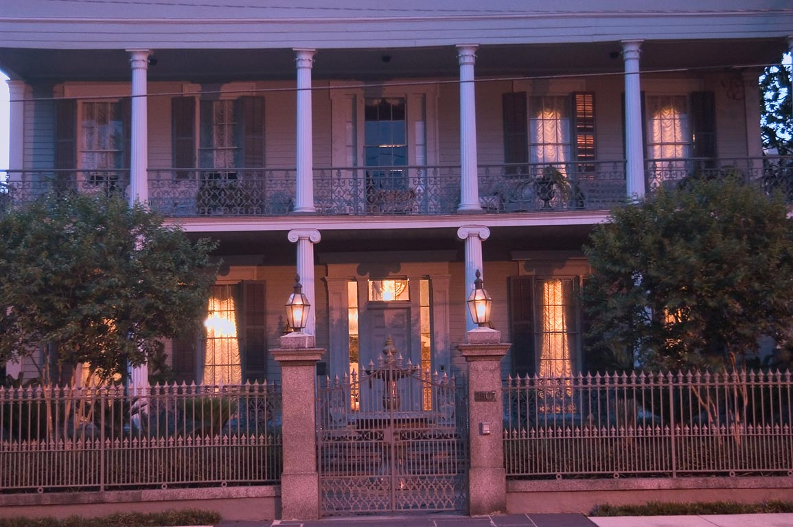 Maddox-Brennan House (1852) at 2507 Prytania St...District. New Orleans, Louisiana