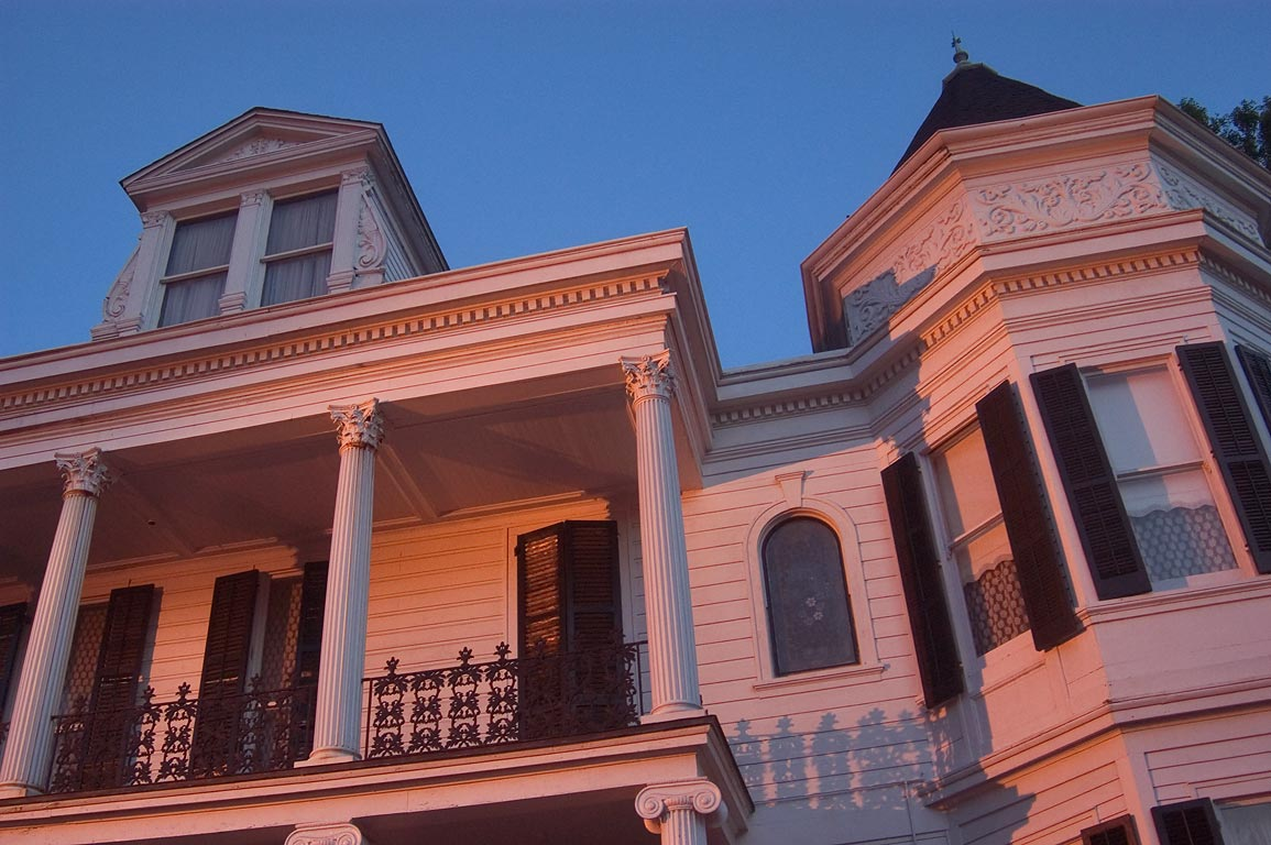 Women's Opera Guild House at 2504 Prytania St. in Garden District. New Orleans, Louisiana