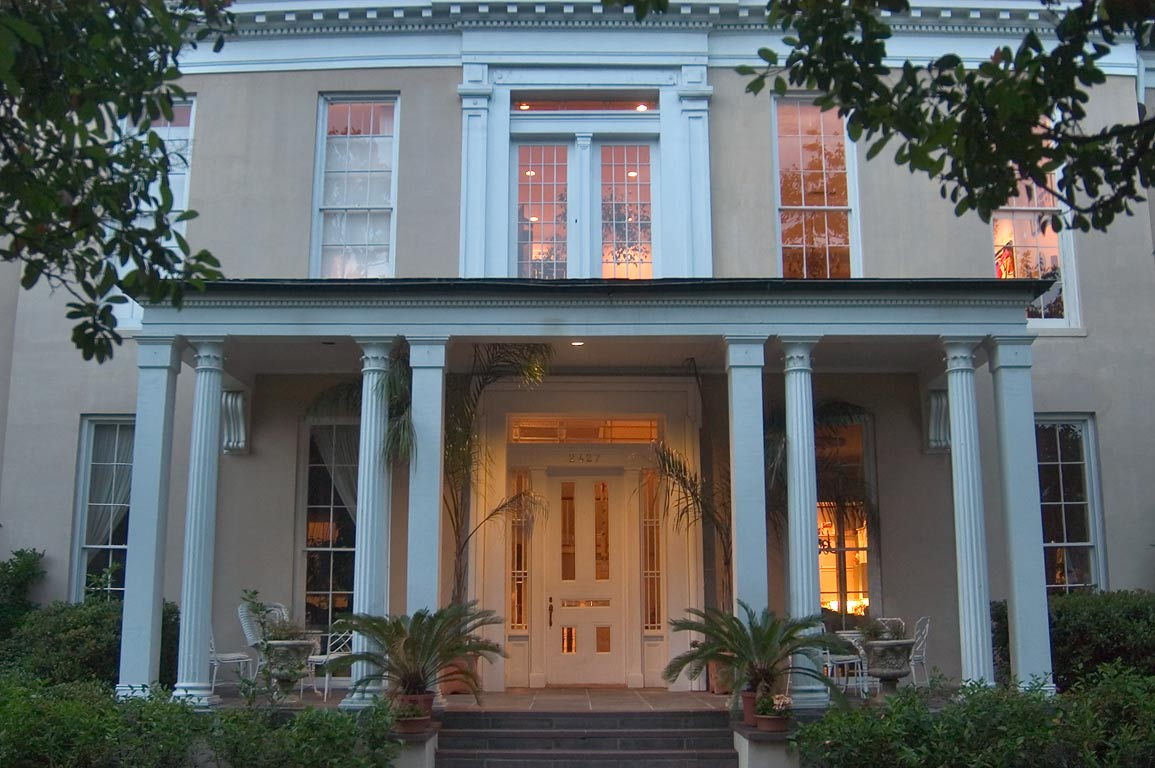 Warwick Manor, at 2427 Camp St. in Garden District. New Orleans, Louisiana