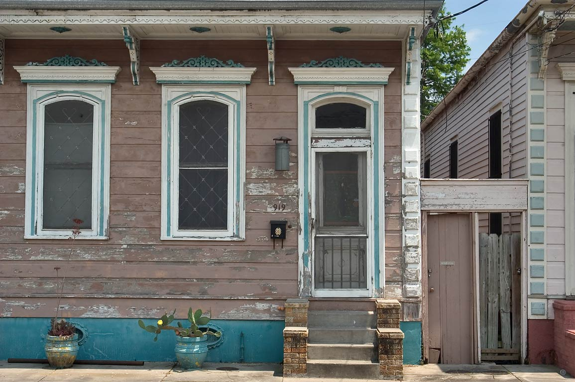 A house at 919 St.Ferdinand St. near Burgundy St...Marigny. New Orleans, Louisiana