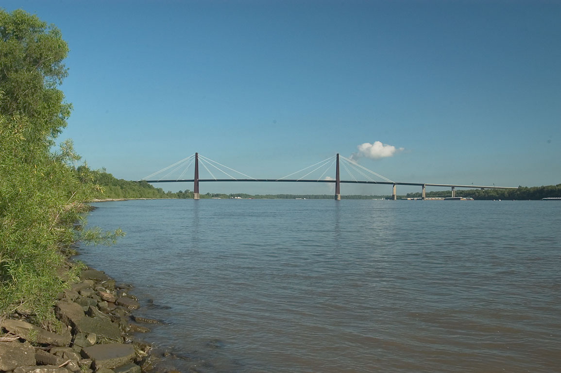 Luling (LA) United States  city photos : ... 09: Hale Boggs Bridge across Mississippi River in Luling. Louisiana