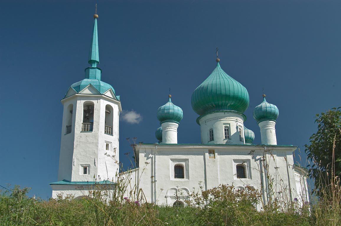 John the Baptist church in Old Ladoga (Staraya Ladoga). Leningrad Region, Russia