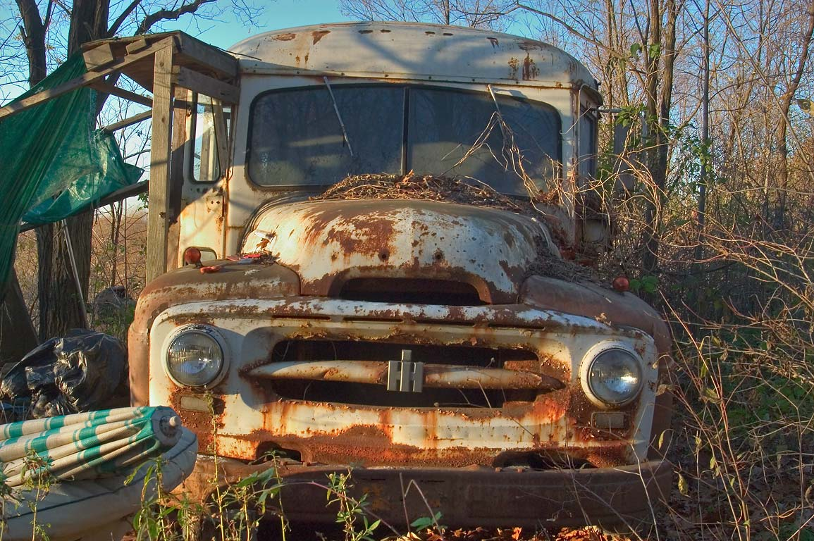 A junk car near Satterly Hill Rd.. Hector, New York