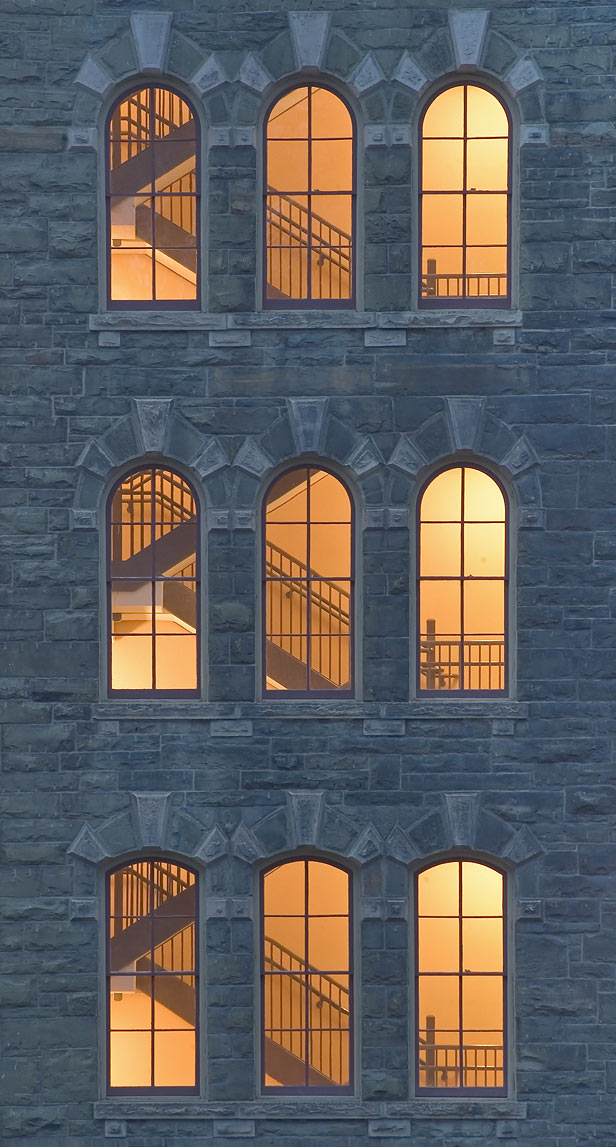 White Hall of Cornell University, view from Arts Quad. Ithaca, New York