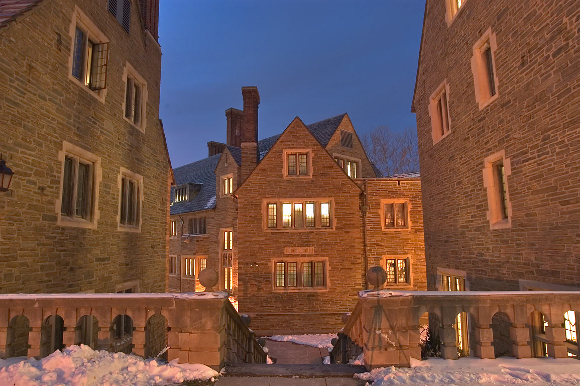 Boldt Hall (dorms) of Cornell University. Ithaca, New York
