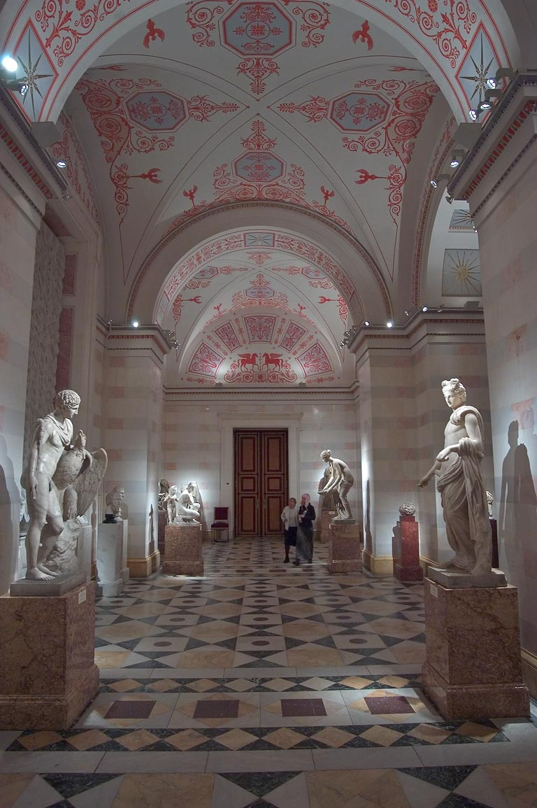 Hall of Culture and Art of the Hellenistic Age in Hermitage Museum. St.Petersburg, Russia