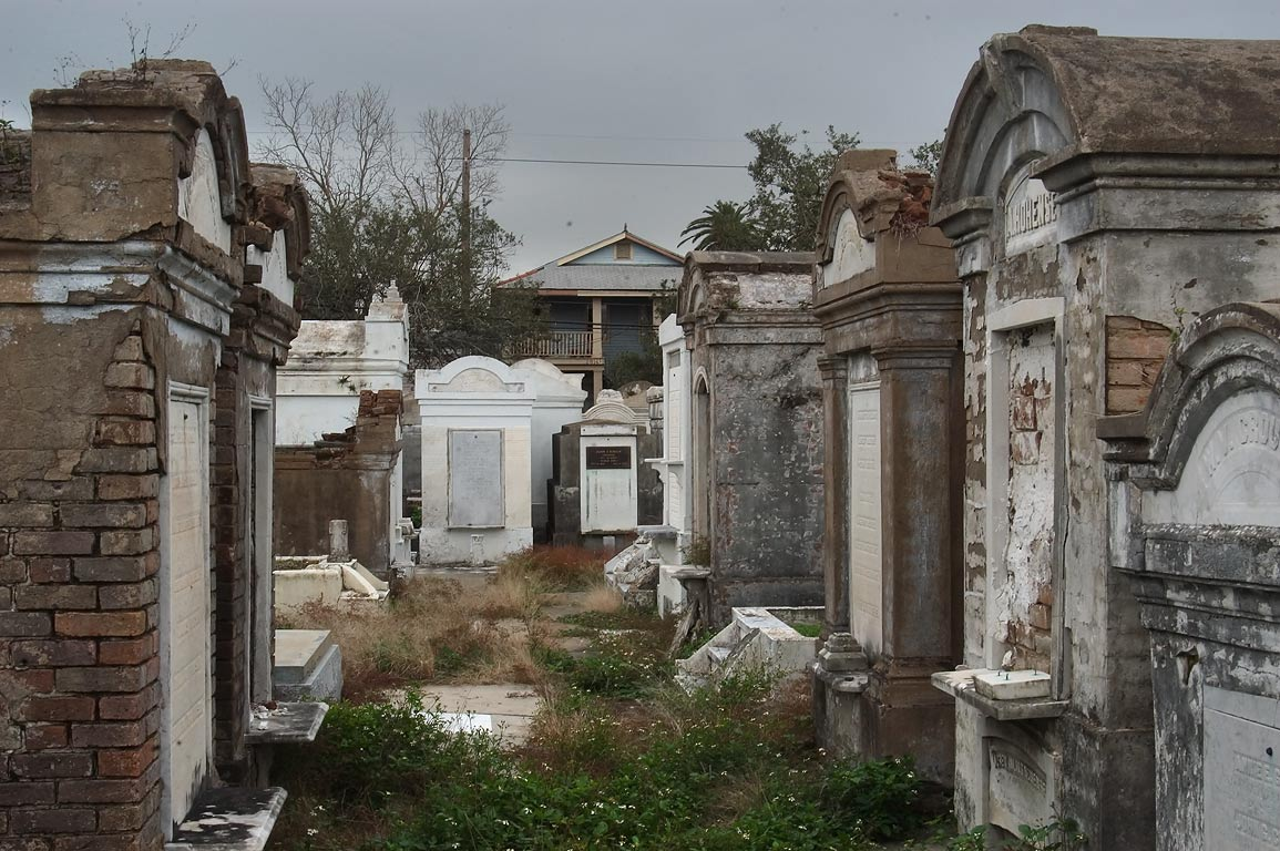 Lafayette Cemetery No. 1, near 6th St.. New Orleans, Louisiana