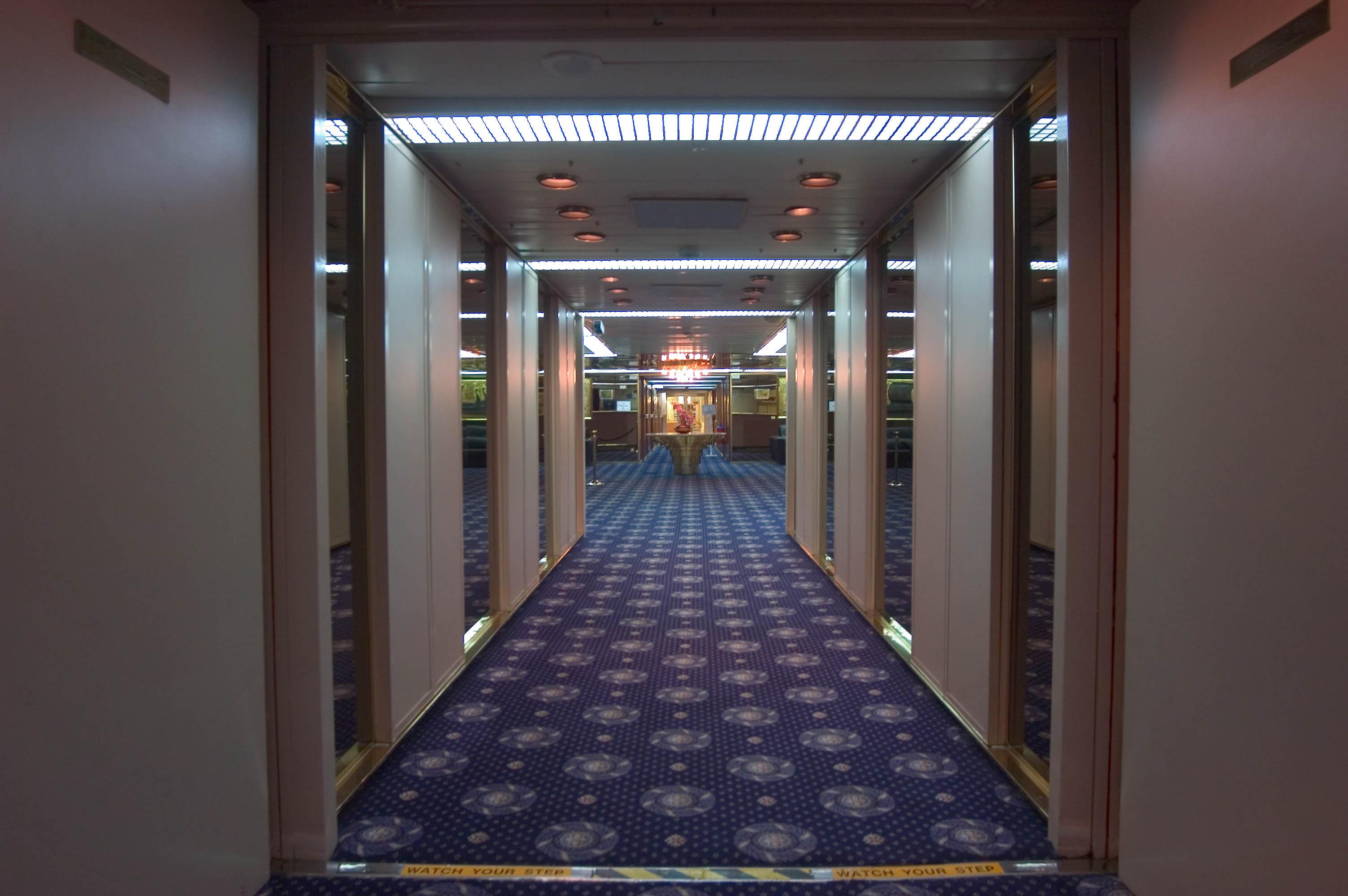 Photo 489 12 Main Deck Corridor Of Cruise Ship Quot Dream