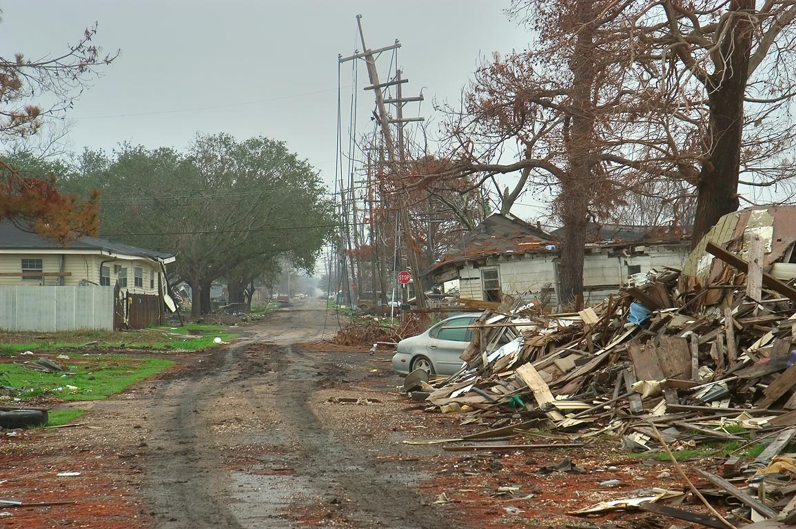 Near Roffignac St. in Lower Ninth Ward. New Orleans, Louisiana