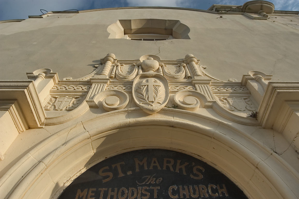 St.Mark's Methodist Church (of the Vieux Carre...Rampart St.. New Orleans, Louisiana