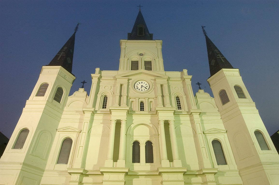 St.Louis Cathedral at morning. New Orleans, Louisiana