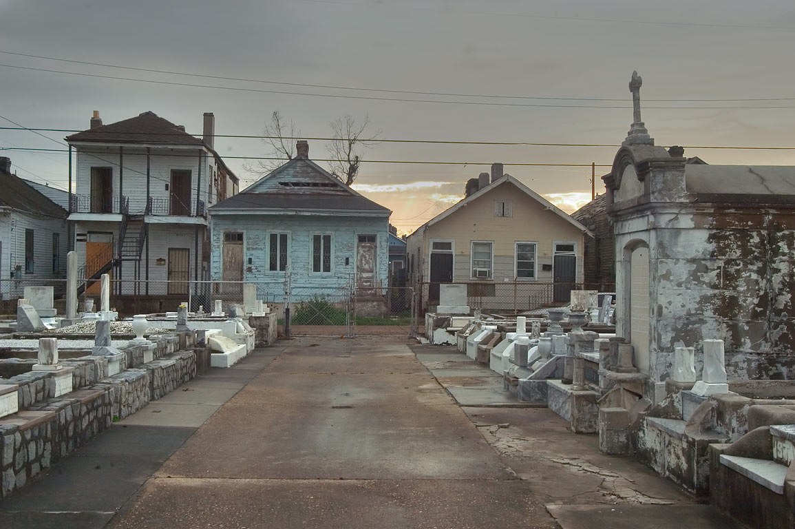St.Joseph Orphan Asylum Cemetery and Seventh St.. New Orleans, Louisiana