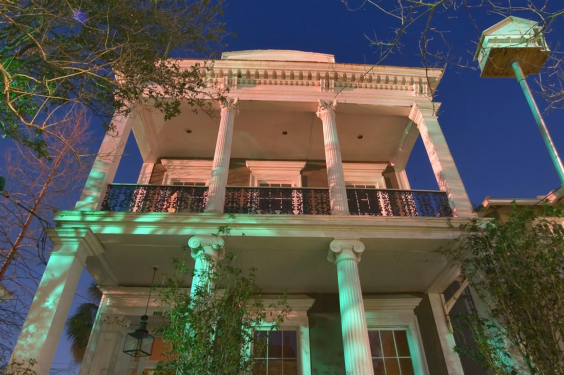 A house at 1131 Third St. near Camp St. in Garden...at evening. New Orleans, Louisiana