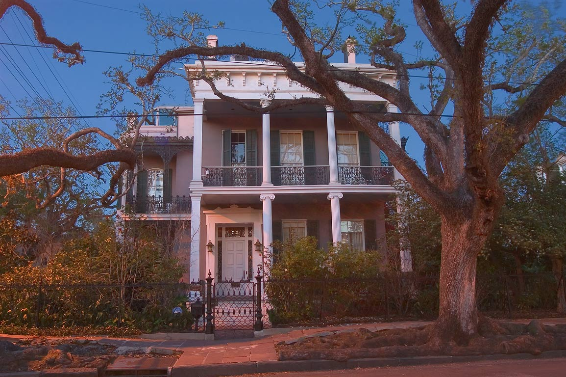 Rosegate-Anne Rice House at the corner of First...District. New Orleans, Louisiana