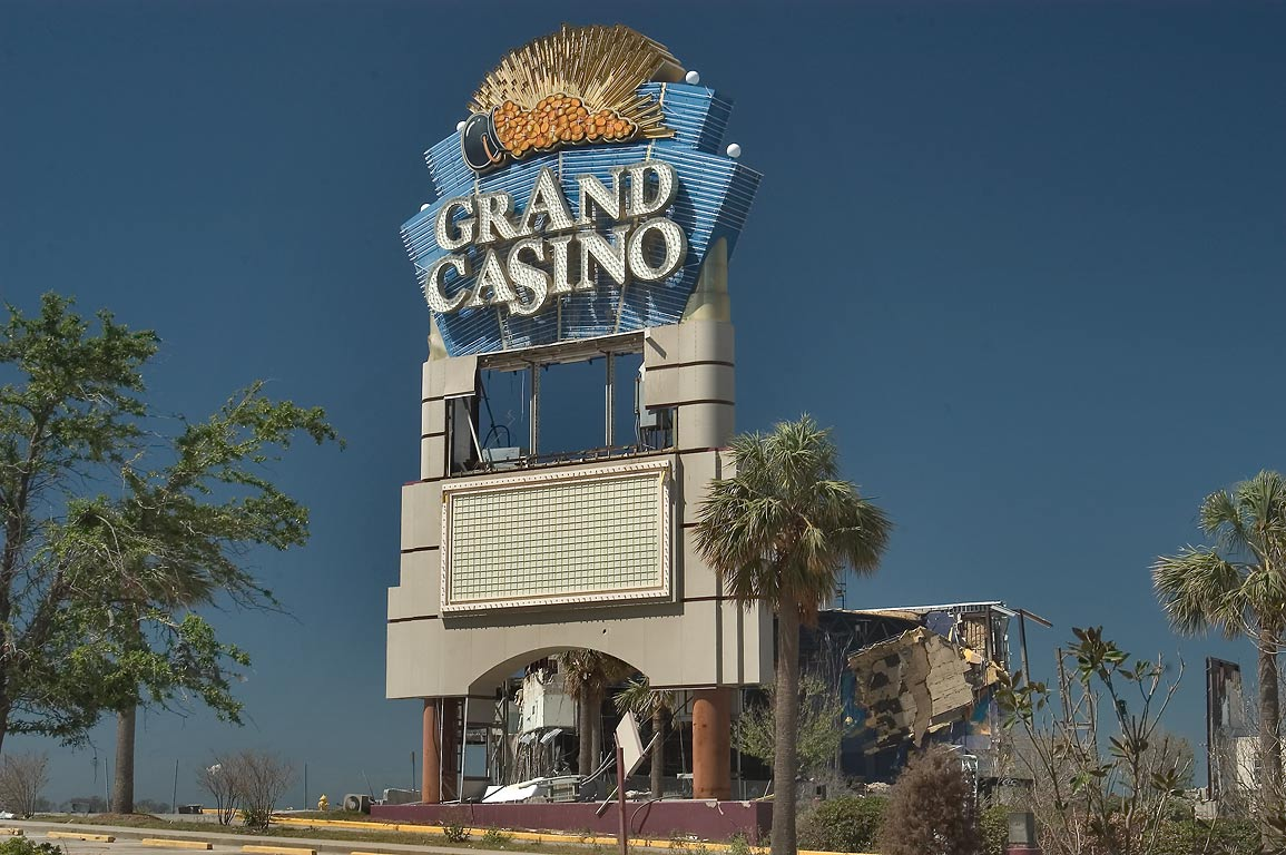 Grand Casino near Beach Dr. in Biloxi. Mississippi