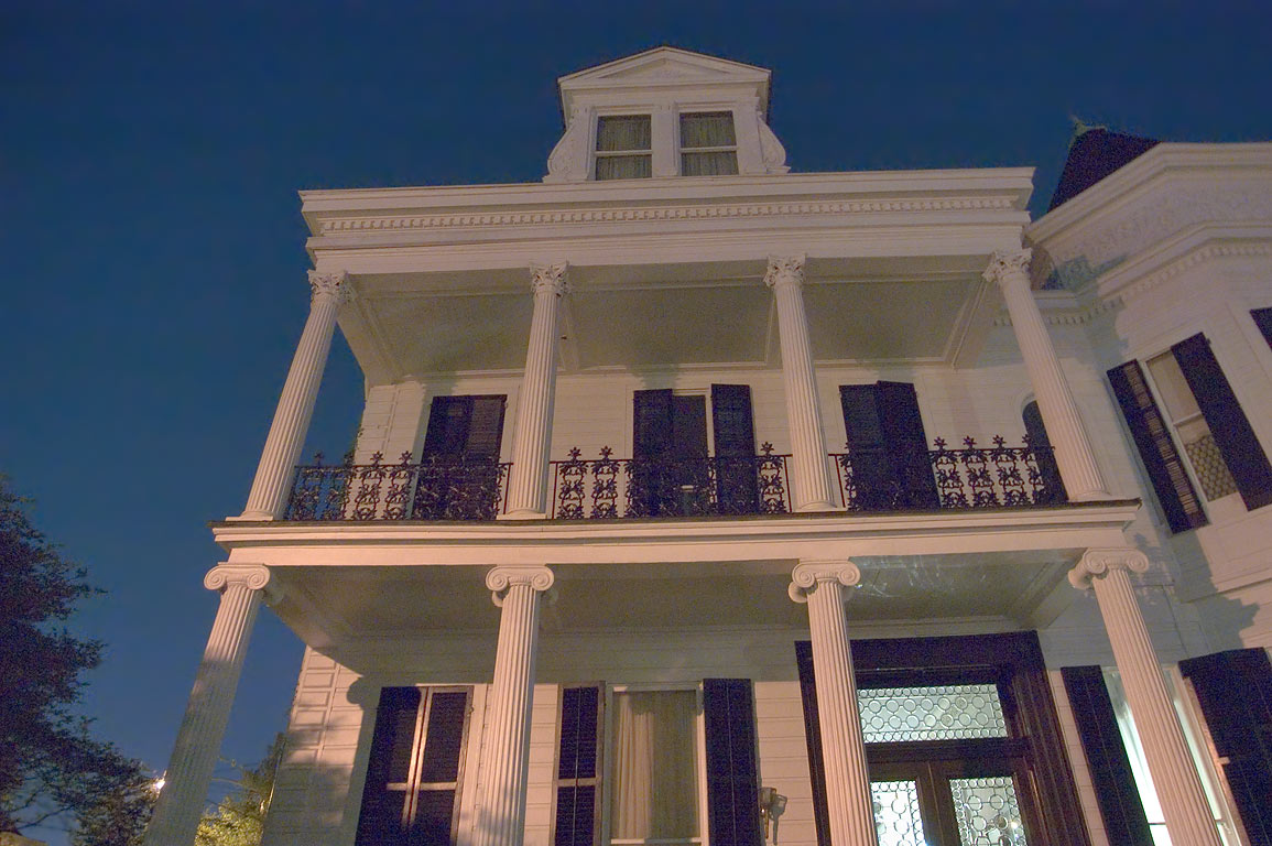 Women's Opera Guild House at 2504 Prytania St. in...at evening. New Orleans, Louisiana