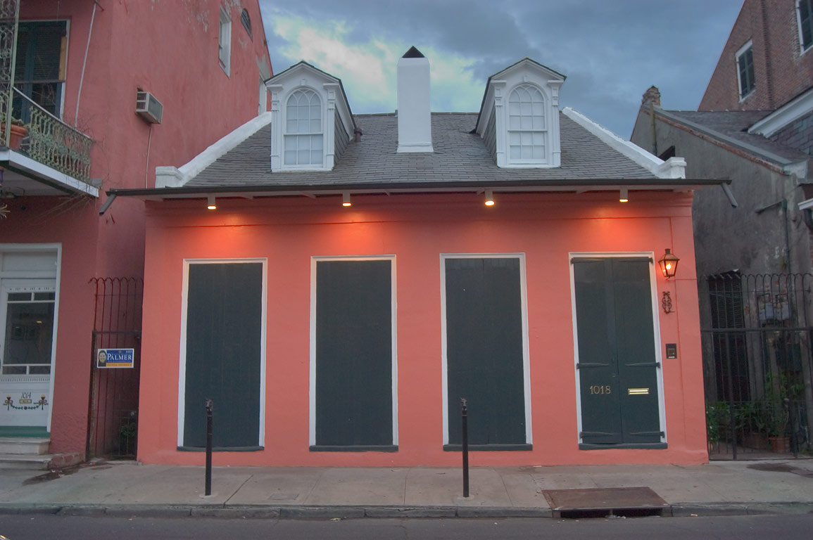 Creole cottage at 1018 Dumaine St., between...French Quarter. New Orleans, Louisiana