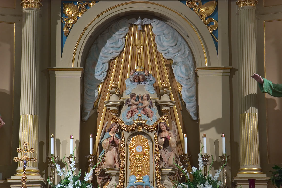 Altar of St.Louis Cathedral in French Quarter. New Orleans, Louisiana