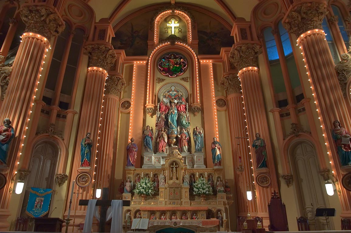 Altar of St.Mary's Assumption (German) Church at...District. New Orleans, Louisiana