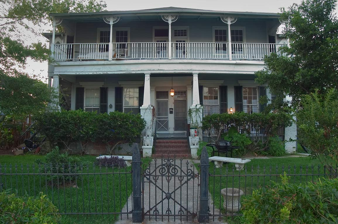 A house at 4231 Coliseum St., corner of Gen...neighborhood. New Orleans, Louisiana