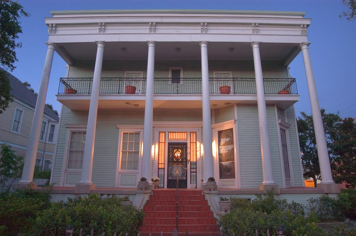 Rectory of Our Lady of Good Counsel Catholic...neighborhood. New Orleans, Louisiana