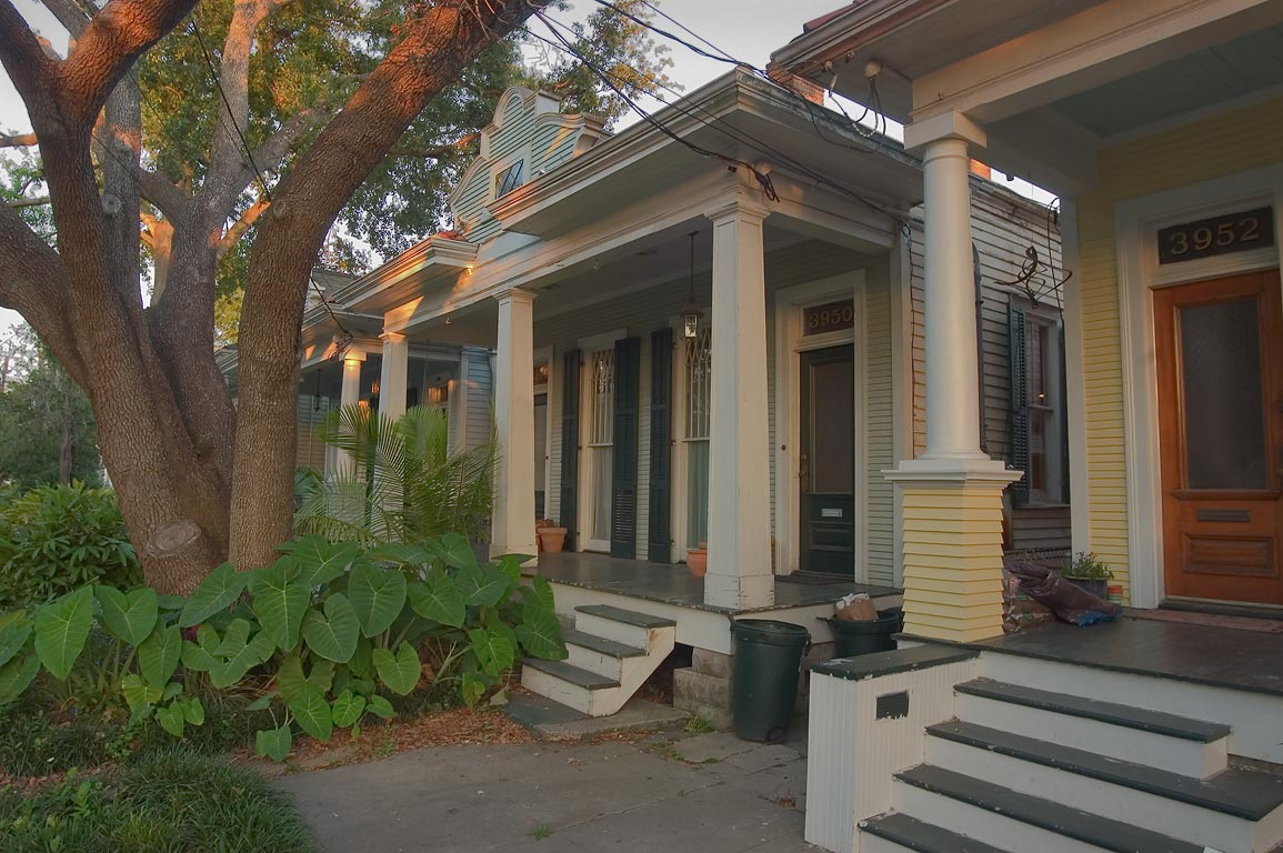 Camp St. near Constantinople St. in Touro neighborhood. New Orleans, Louisiana