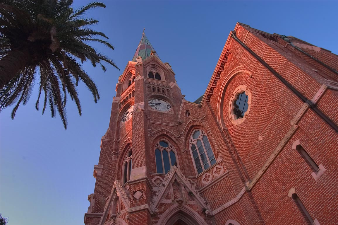 St.Stephen's Roman Catholic Church (built 1871...neighborhood. New Orleans, Louisiana