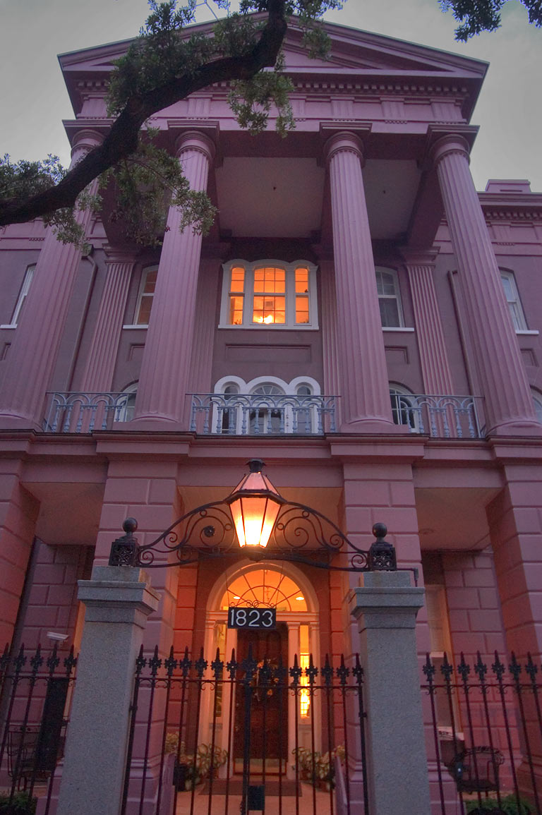 St.Anna's Asylum at 1823 Prytania St., a corner...District. New Orleans, Louisiana