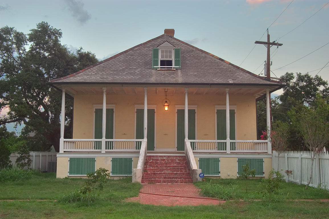 Lombard Plantation at 3933 Chartres St., corner...St. in Bywater. New Orleans, Louisiana