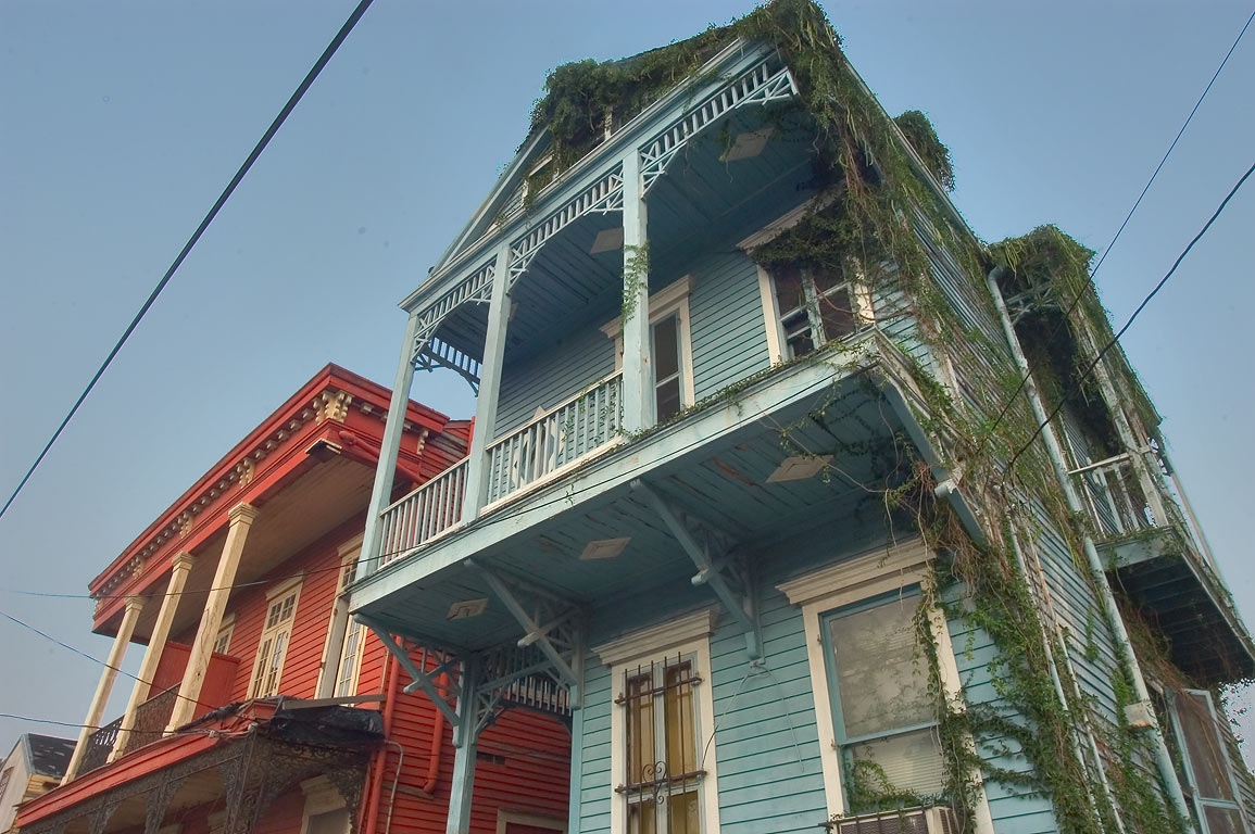 Baronne St. near Jackson Ave. in Central City. New Orleans, Louisiana
