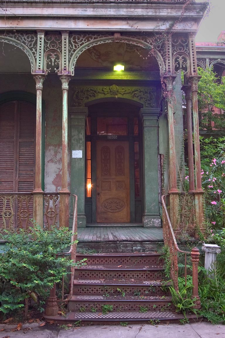 Armstrong-Danna House (1868) at 2805 Carondelet...Central City. New Orleans, Louisiana