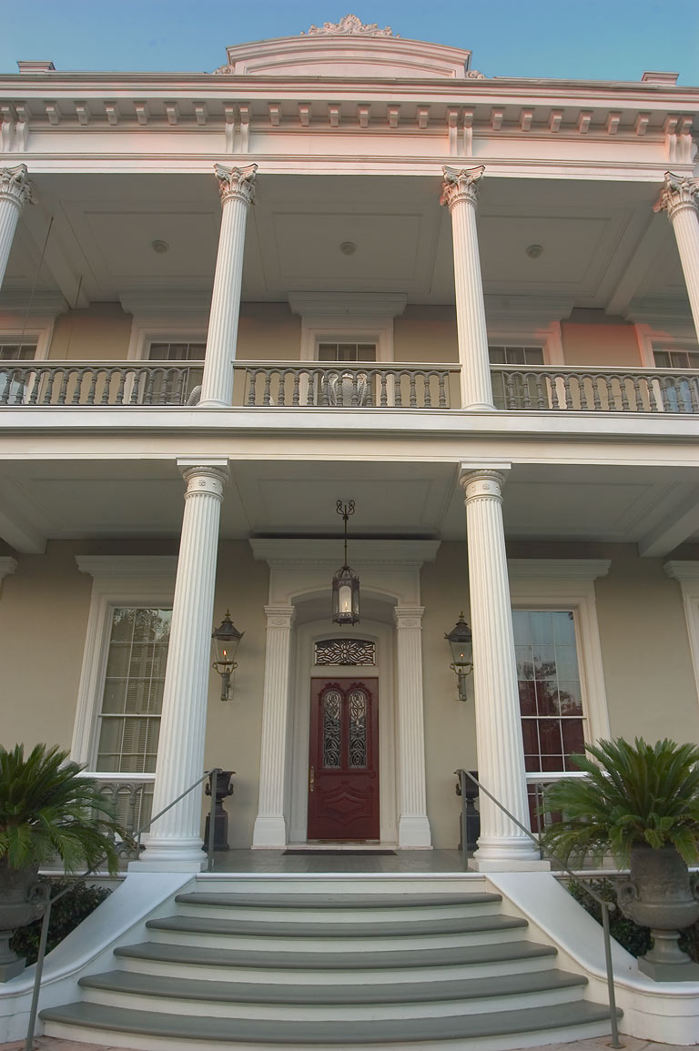 Robinson House at 1415 Third St. in Garden District. New Orleans, Louisiana