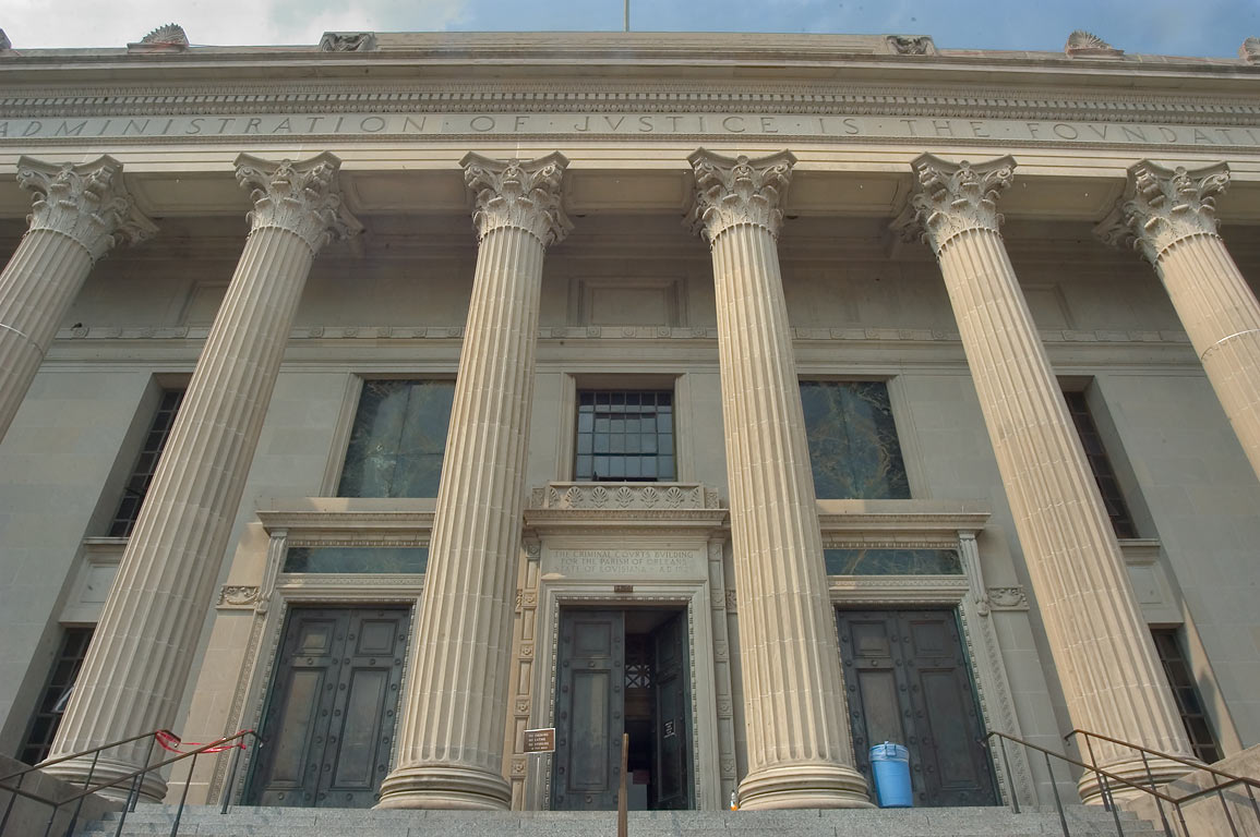 Criminal Court House (Israel M. Augustine...Central City. New Orleans, Louisiana
