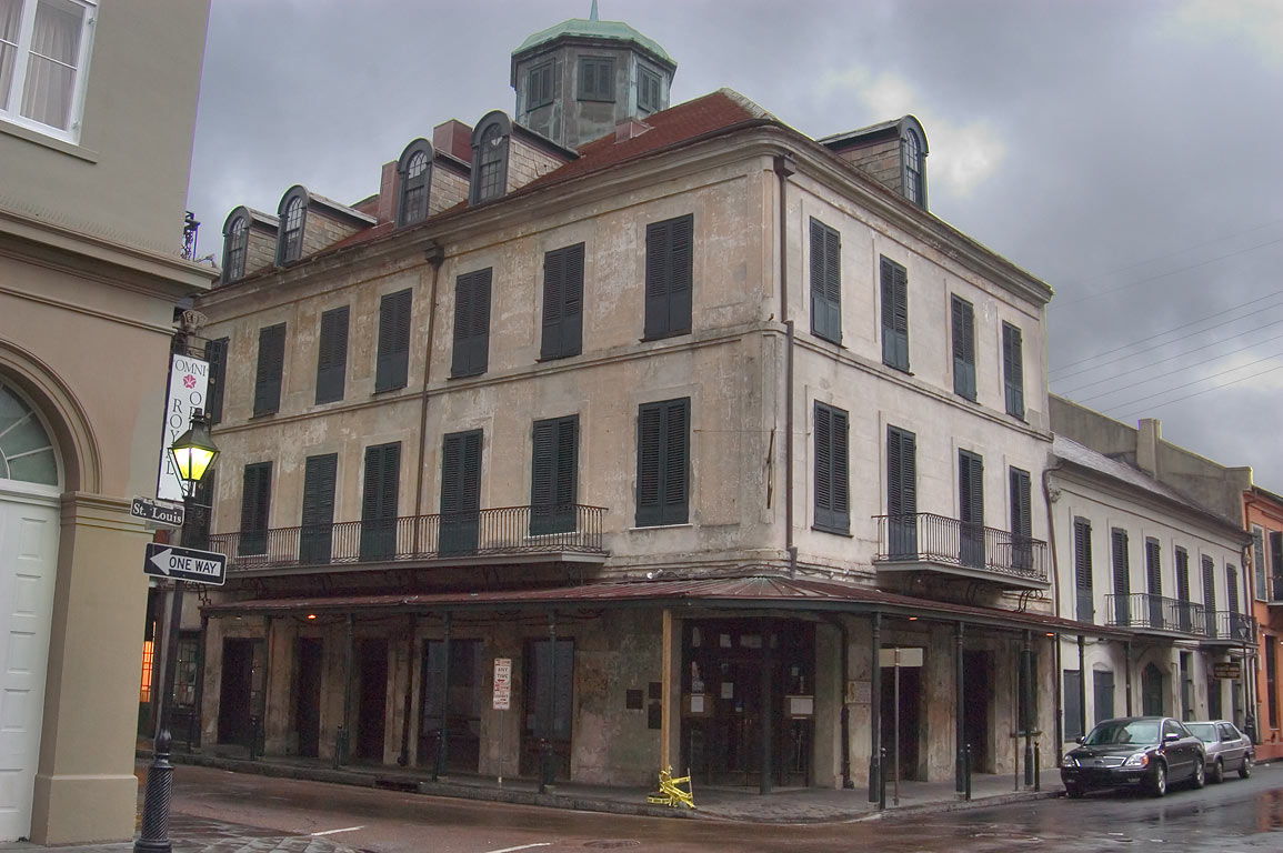 Napoleon House (Nicholas Girod House, 1814) at...French Quarter. New Orleans, Louisiana