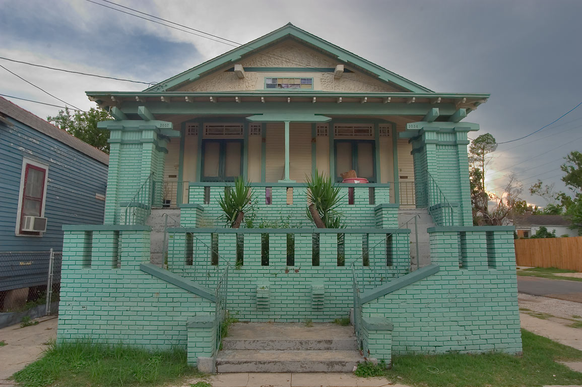 3034 Dumaine St., a corner of North Salcedo St...neighborhood. New Orleans, Louisiana
