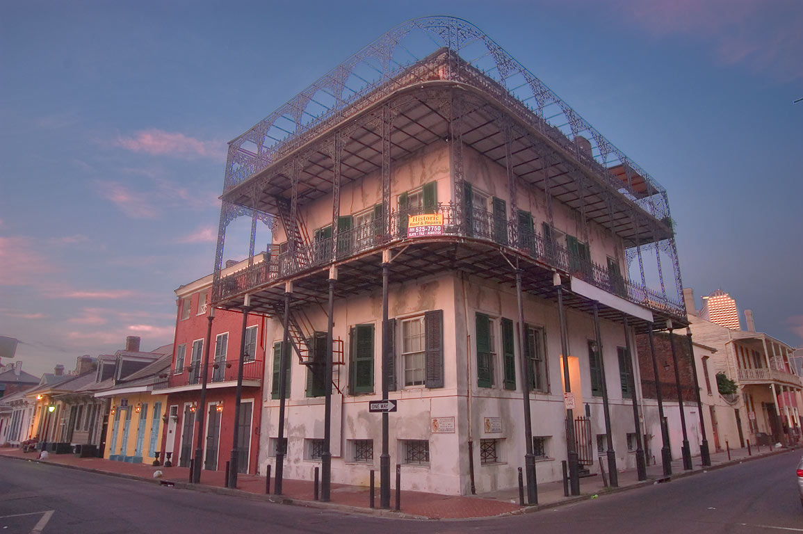 Gardette-LaPretre House at 716 Dauphine St., a...French Quarter. New Orleans, Louisiana