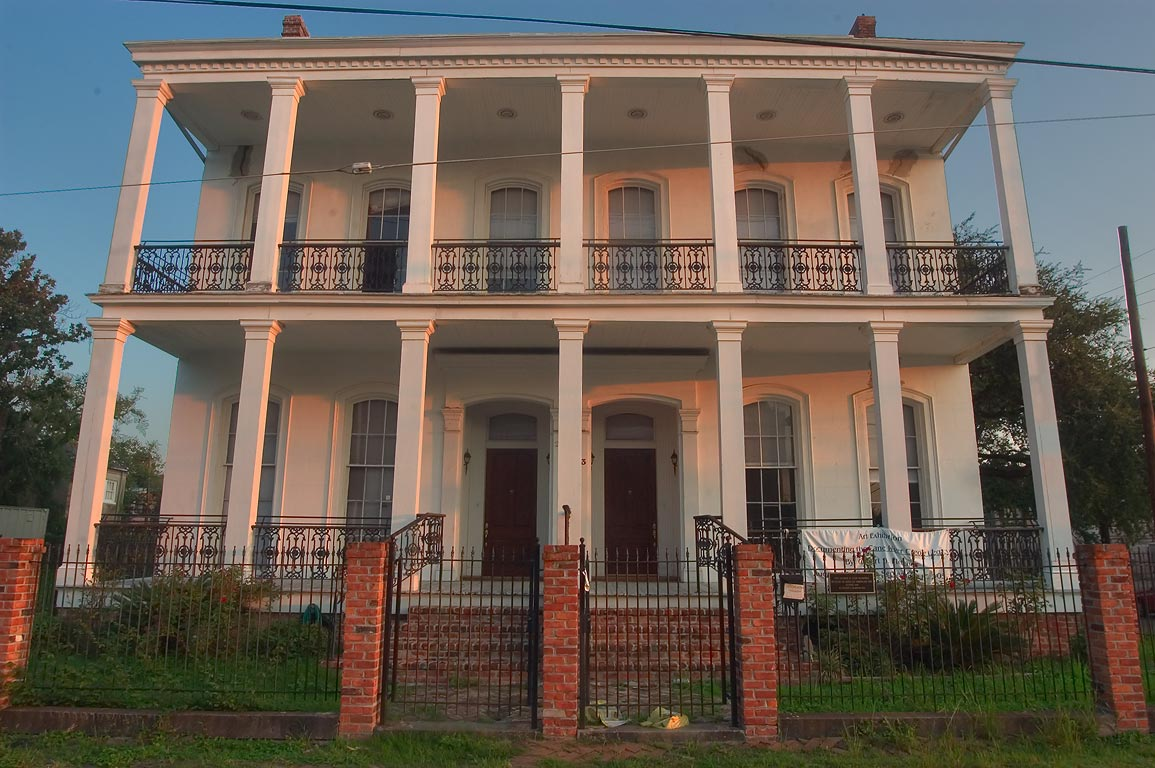 The George and Leah McKenna Museum of African...House). New Orleans, Louisiana