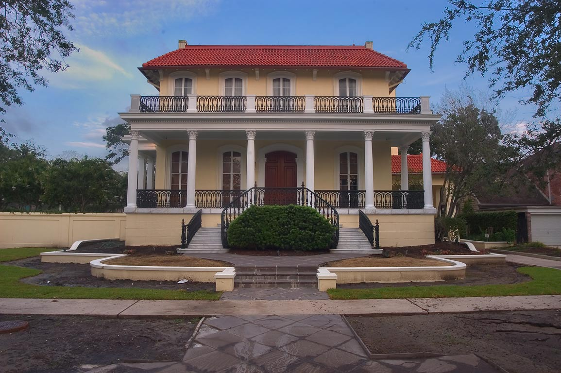 McGuirk-Geoghagen-Roy-Conwill IV House (1912) at...neighborhood. New Orleans, Louisiana
